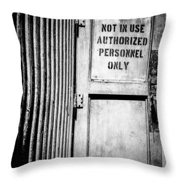 Pacific Airmotive Corp 19 Throw Pillow