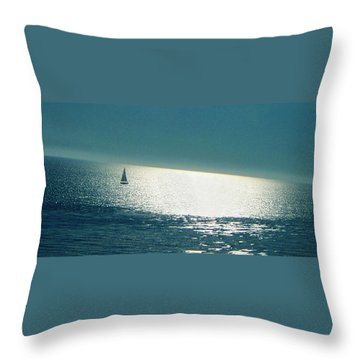 Pacific Throw Pillow by Ben and Raisa Gertsberg