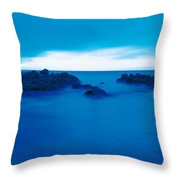 Pacific Coast Monterey Ca Usa Throw Pillow