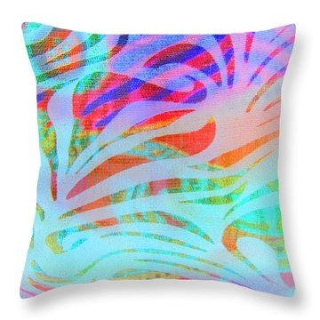 Throw Pillow featuring the photograph Pacific Daydream by Nareeta Martin