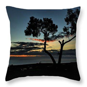 Pacific Evening Throw Pillow