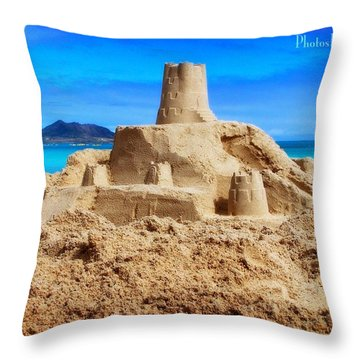 Pacific Moat Throw Pillow
