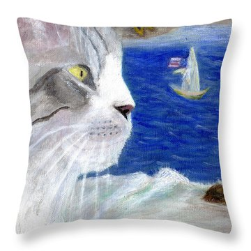 Pacific Northwest Dreamer  Throw Pillow