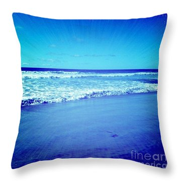 Pacific Rays Throw Pillow