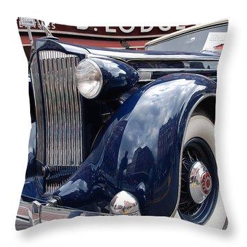 Packard 1207 Convertible 1935 Throw Pillow