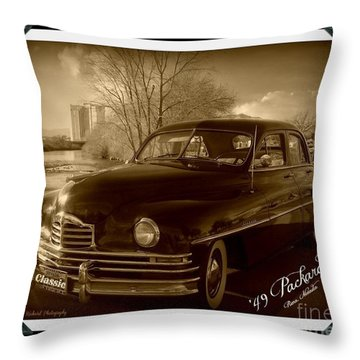 Packard Classic At Truckee River Throw Pillow