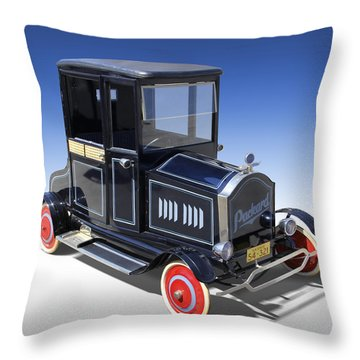 Packard Peddle Car Throw Pillow by Mike McGlothlen