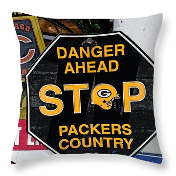 Packers Country Throw Pillow