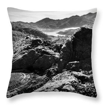 Packers Overlook Monochrome Throw Pillow