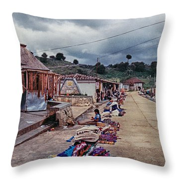 Street Wares Throw Pillow
