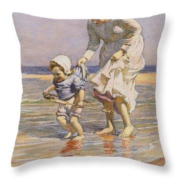Paddling Throw Pillow