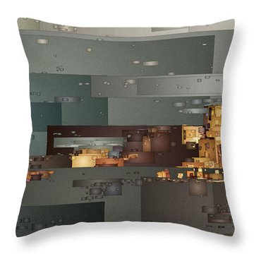 Padre Bay Throw Pillow