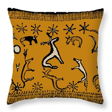 Pagan Rituals Throw Pillow