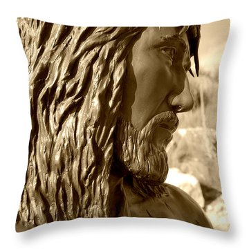 Pain Of Jesus Throw Pillow