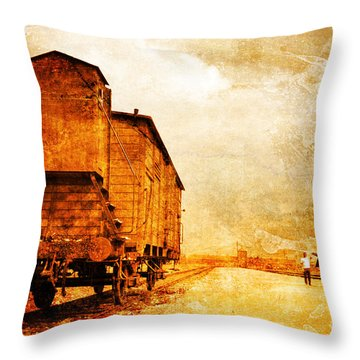 Painful Memories Throw Pillow by Randi Grace Nilsberg