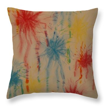 Paint My Masterpiece Throw Pillow