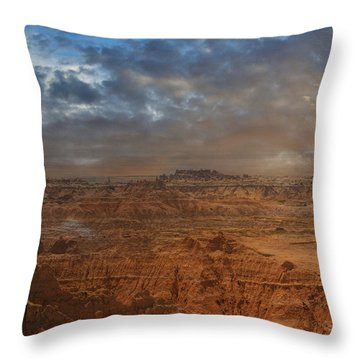 Painted By Nature Throw Pillow