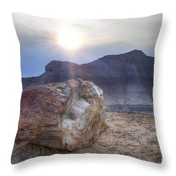 Painted Desert V9 Throw Pillow