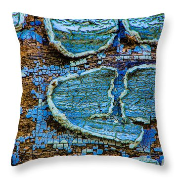 Painted Lovers Throw Pillow