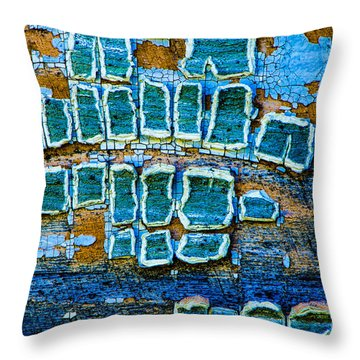 Painted Windows Number 1 Throw Pillow