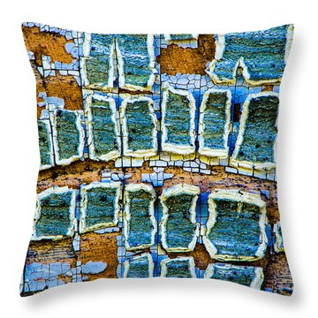 Painted Windows Number 2 Throw Pillow
