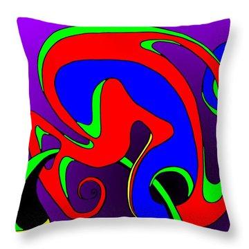 Pair 2014 Throw Pillow by Helmut Rottler