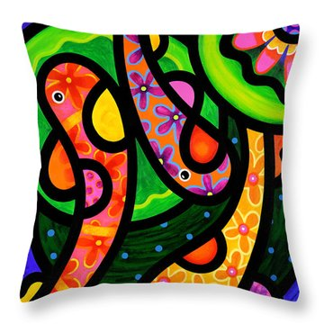 Paisley Pond - Vertical Throw Pillow