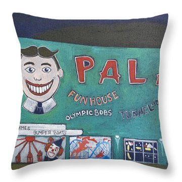 Palace 2013 Throw Pillow by Patricia Arroyo