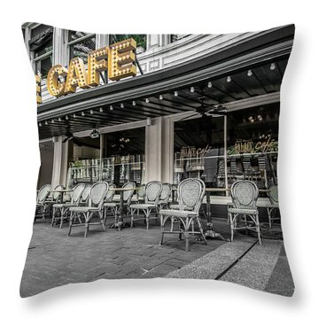 Palace Cafe In New Orleans 2 Throw Pillow