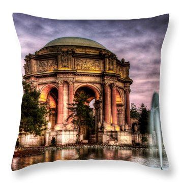 Palace Redone Throw Pillow