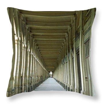 Palais Royale Throw Pillow