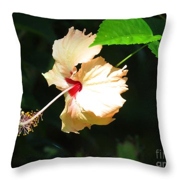 Palawan Flower Throw Pillow