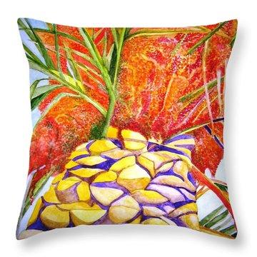 Palermo Palm Throw Pillow
