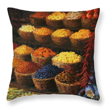 Herbs Throw Pillows