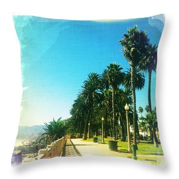Palisades Park Throw Pillow by Nina Prommer
