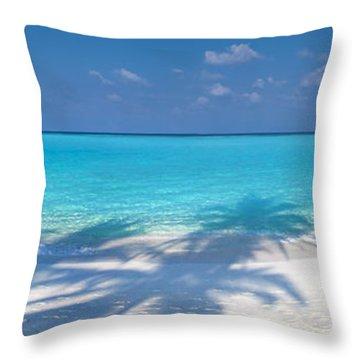 Palm Escape Throw Pillow