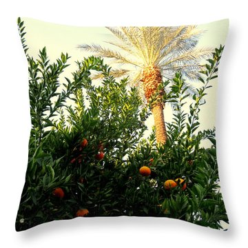 Palm Springs Soul Throw Pillow
