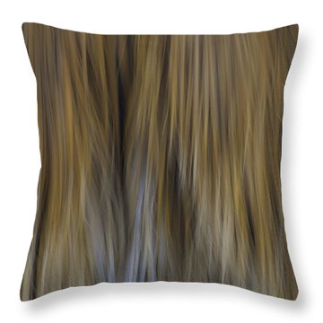 Palm Tree Abstract 2 Throw Pillow by Sherri Meyer