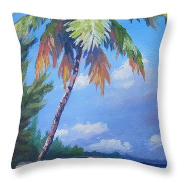 Palms Throw Pillows