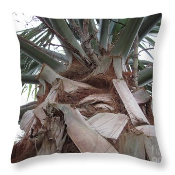 Florida Palm Throw Pillow