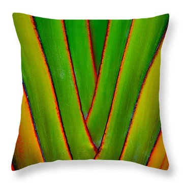 Palm Weave Grande Throw Pillow