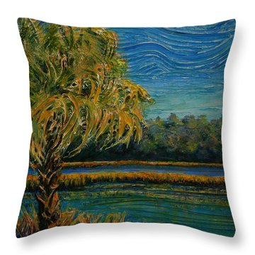 Palmetto State Throw Pillow