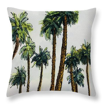 Things Are Looking Up.. Throw Pillow
