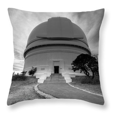 Palomar Observatory Throw Pillow