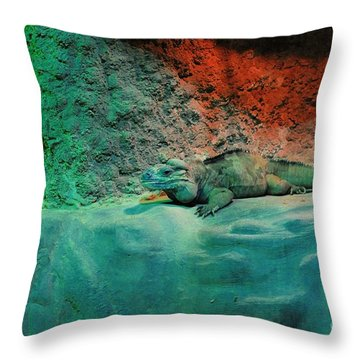 Pals Throw Pillow by Kathleen Struckle