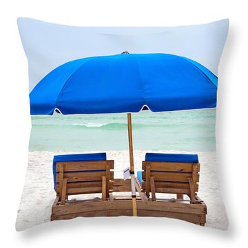 Panama City Beach Florida Throw Pillow