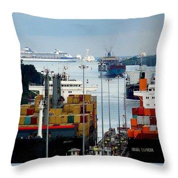 Panama Express Throw Pillow