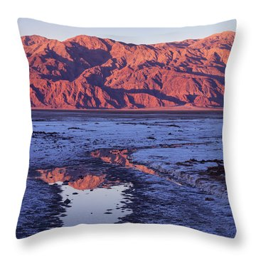 Panamint Reflection 2 Throw Pillow