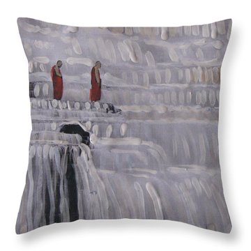 Pangua Vietnam Throw Pillow