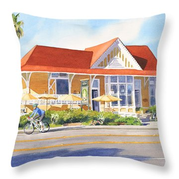 Pacific Coast Highway Throw Pillows